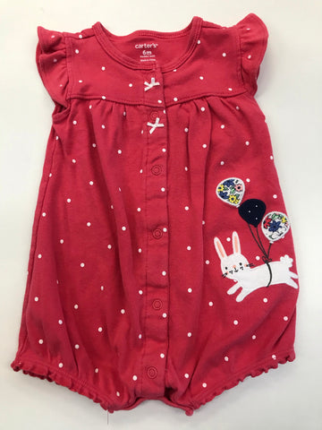 Girls Outfit 1 piece Carter's  6 months