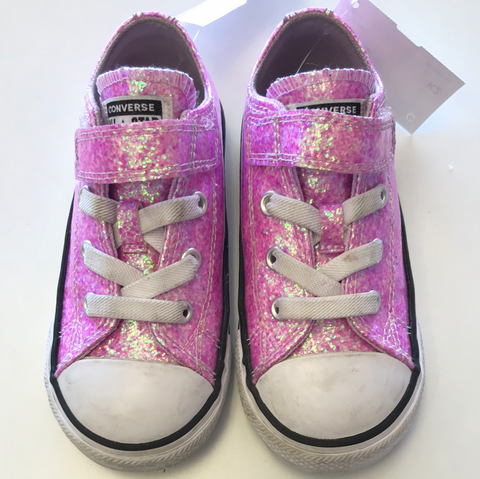 Girls 8 Converse Shoes