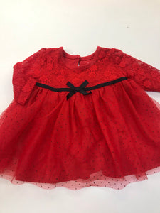 Girls Dress Mini B. 3 months