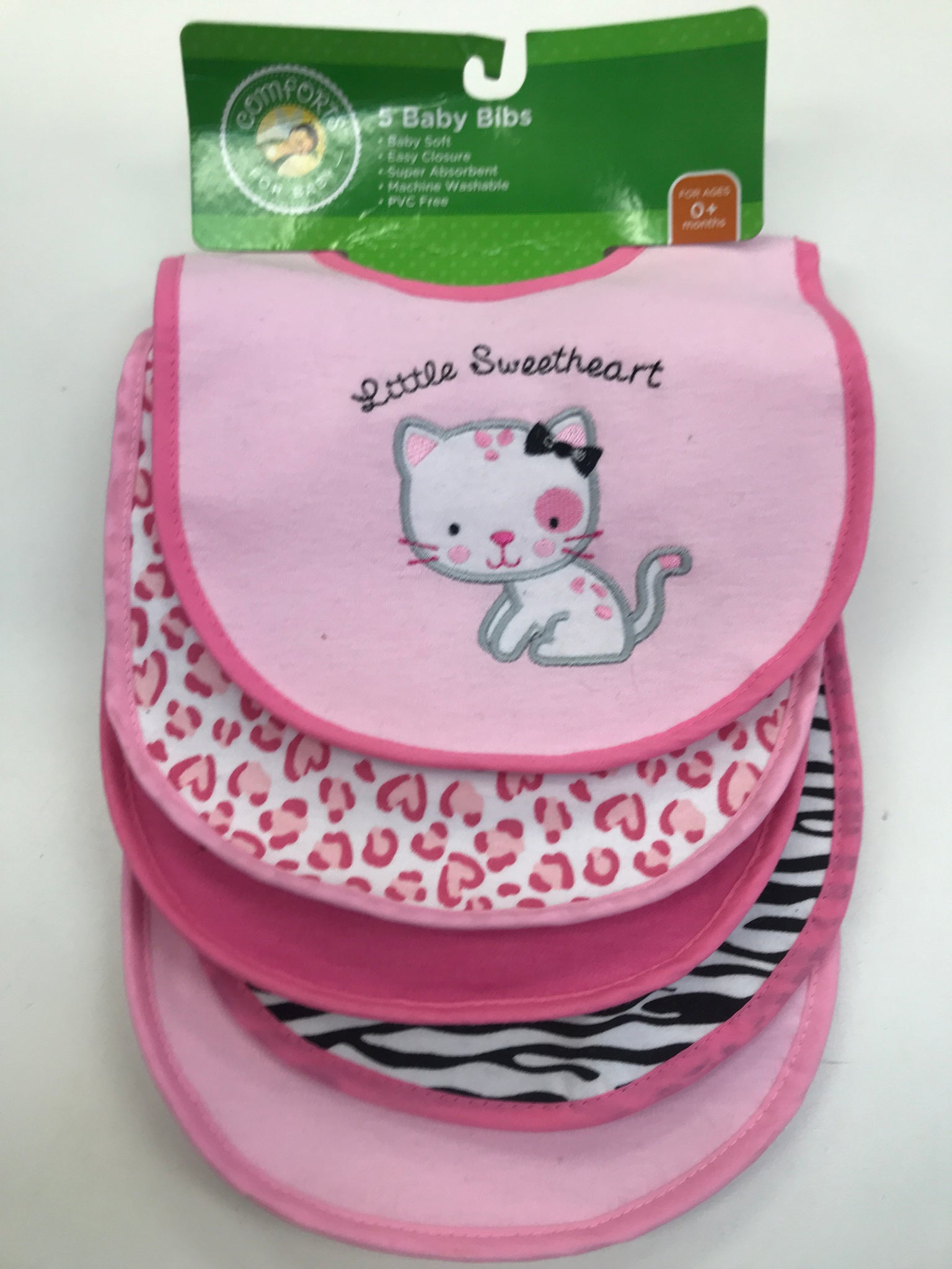 Infant Bibs pack of 5