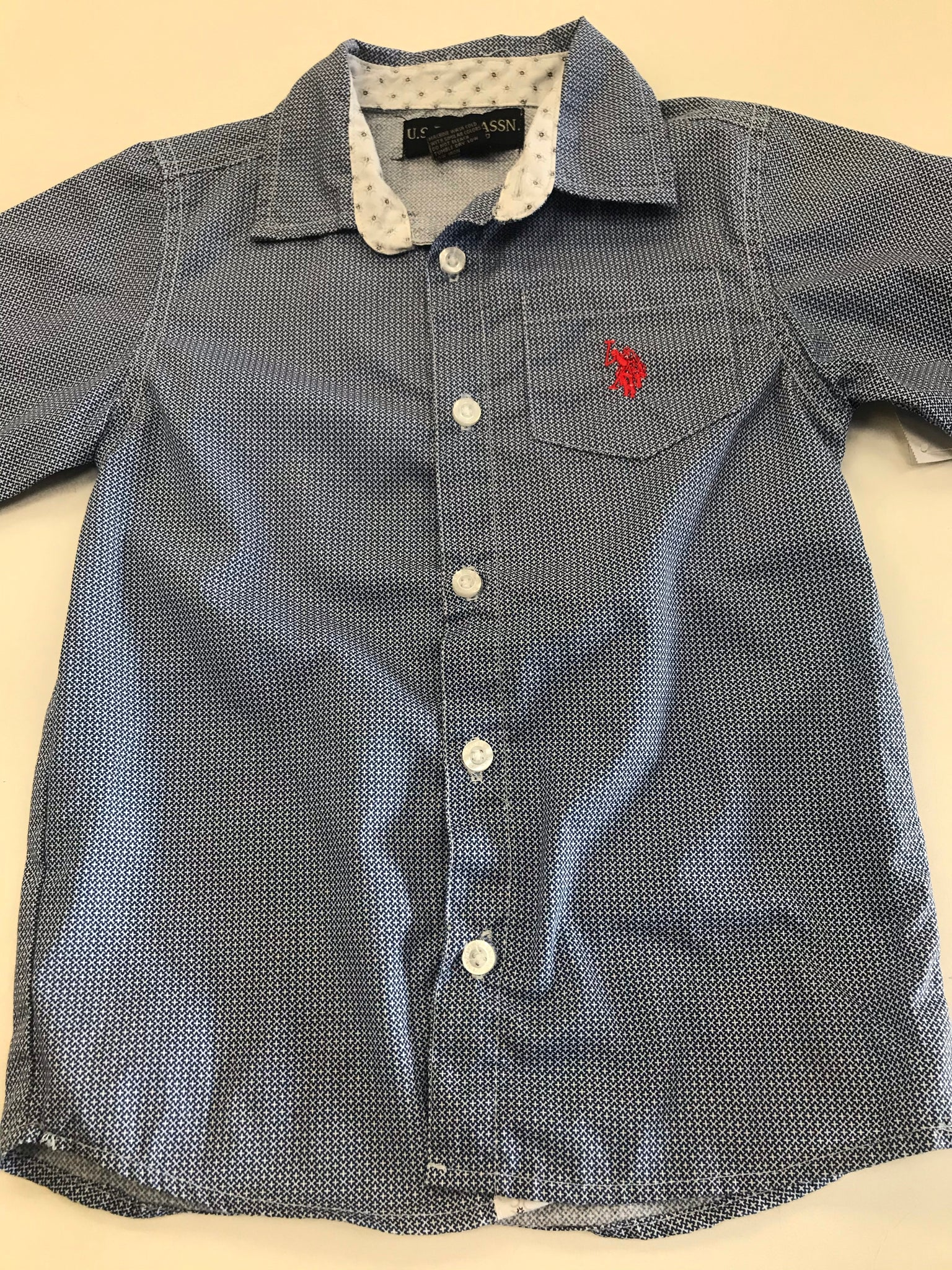 Boys Button Up Shirt US Polo 5