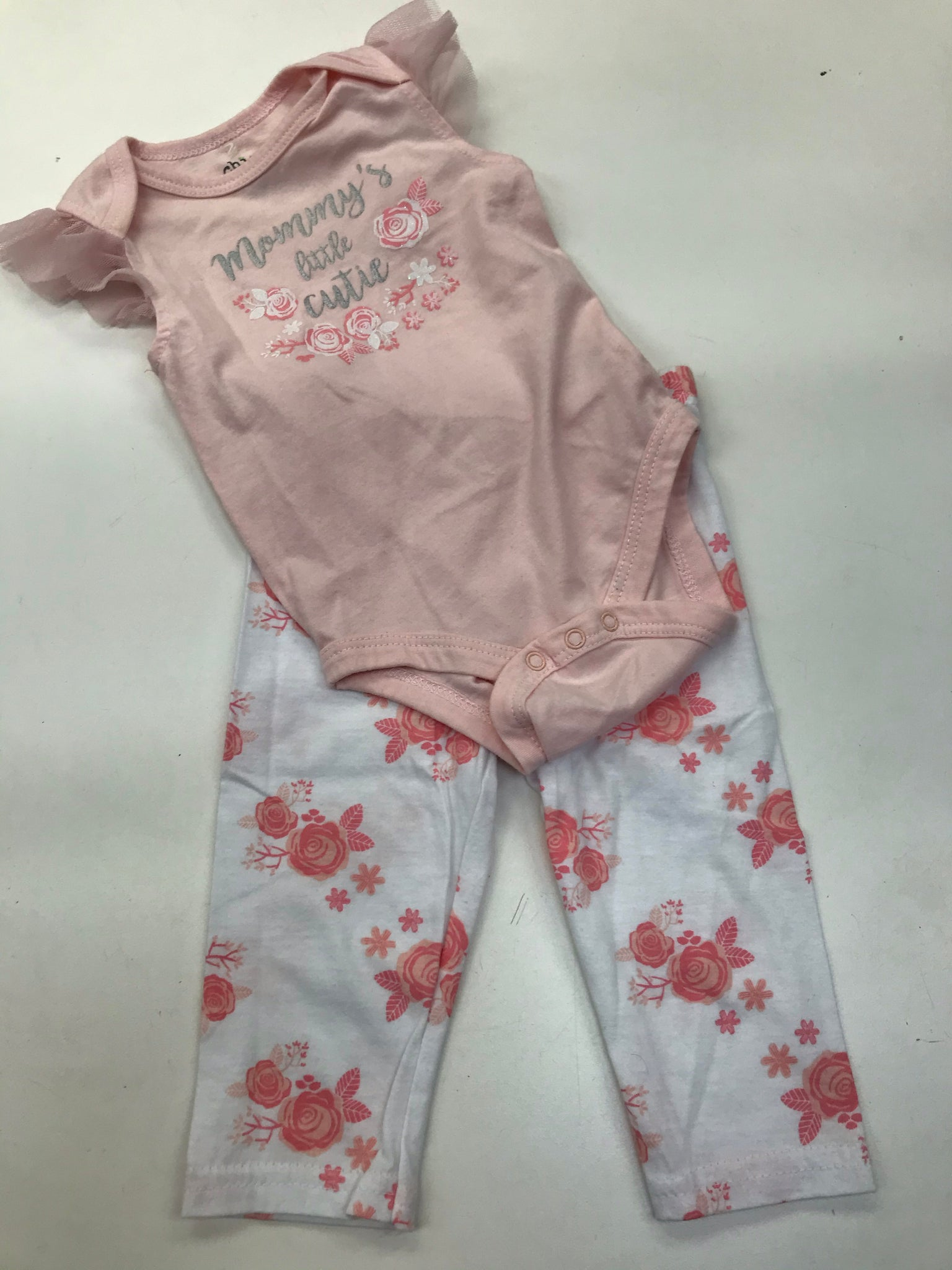Girls Outfit 2 Piece Chick Pea 3 months