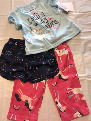 12 months Just One You 3pc pajamas