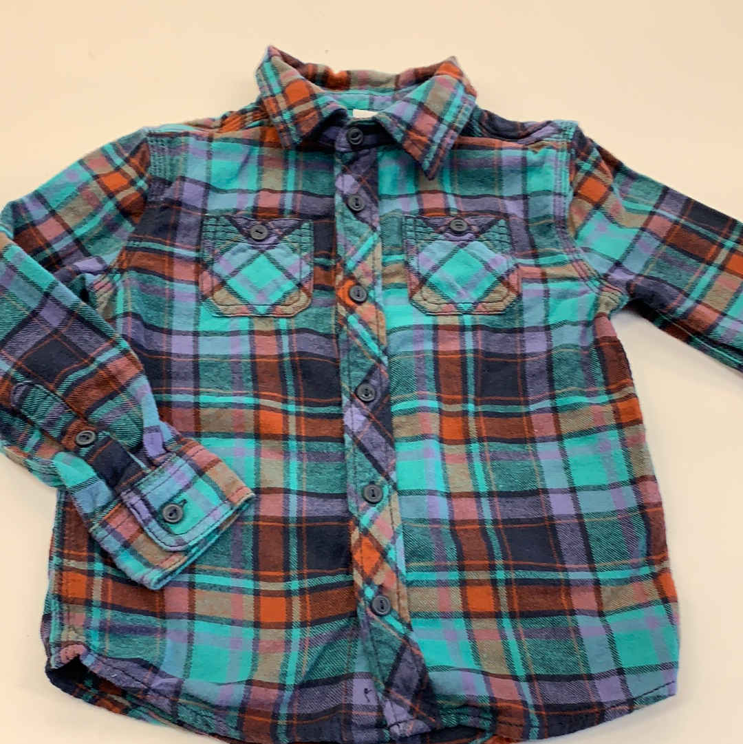 Button down Long Sleeve Sonoma 4T