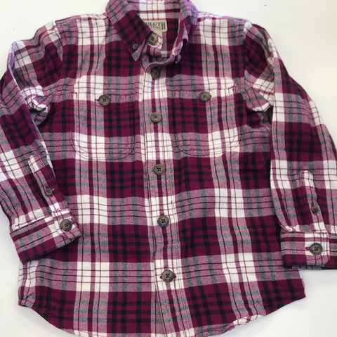 4/5 Duluth Trading Flannel Shirt