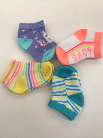 Infant socks Pack of 4 pairs
