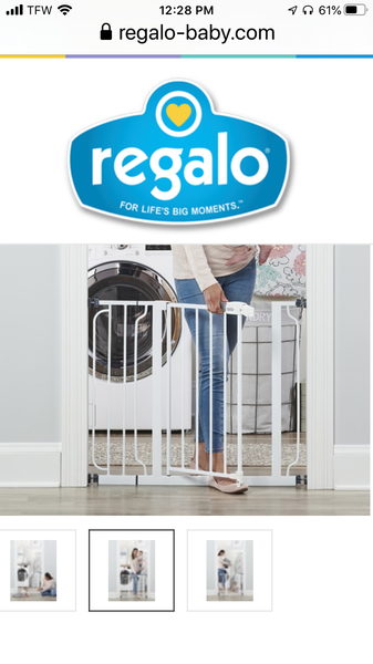 REGALO EASY STEP® SAFETY GATE