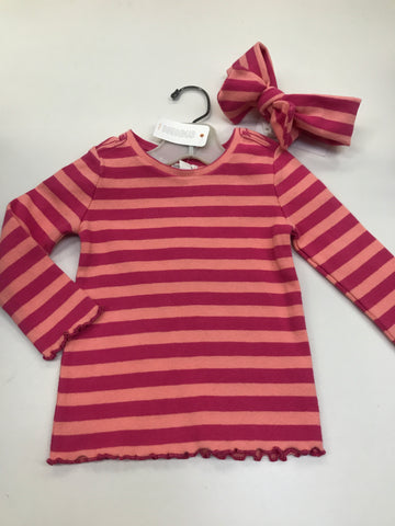 12 months Gymboree Shirt with Headband
