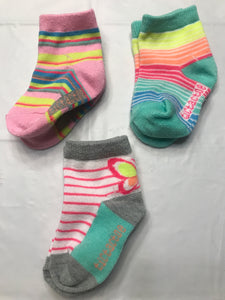 Lot of Infant socks Pack of 3 pairs