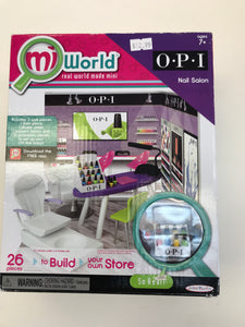 MiWorld Mini OPI Nail Salon