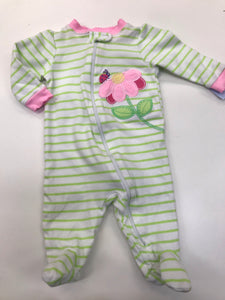 Girls Pajamas Garanimals 0-3 months
