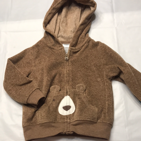 12 months Child of Mine Zip Up Hoodie