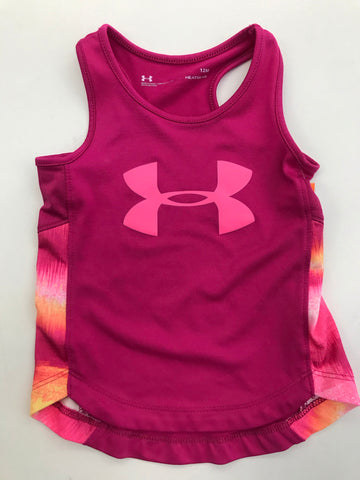 Girls Athletic Tank Top Under Armour 12 months