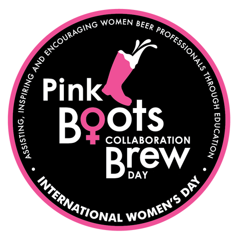 Pink Boots Collaboration Logo