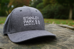 SPB Stacked Logo Snapback Hat - Grey
