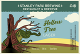Hollow Tree Lager Limited Edition Earth Day Label by Julia Kim
