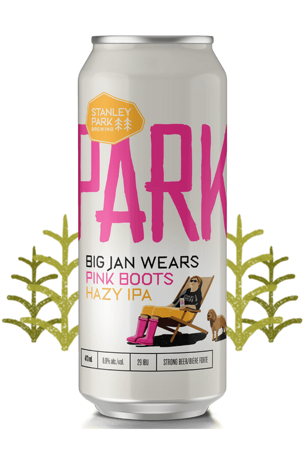 Big Jan Wears Pink Boots Hazy IPA 6.9% ABV  - PARKBEER 473ml Tall Can