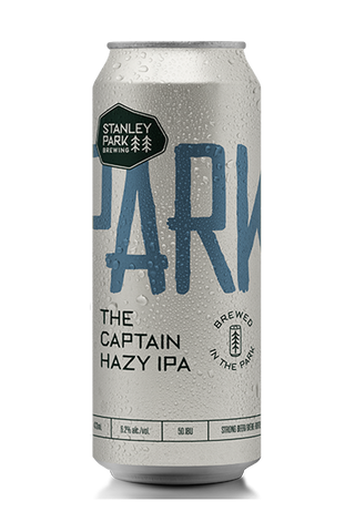 The Captain Hazy IPA 6.2% ABV  - PARKBEER 473ml Tall Can