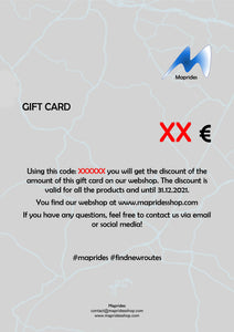 Maprides Gift Card
