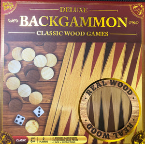Backgammon Wooden Game