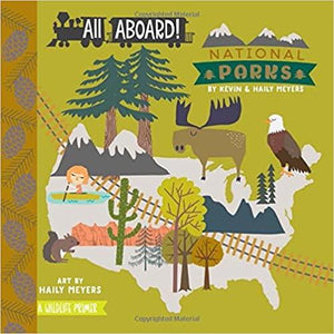 All Aboard! National Parks (Board Books)