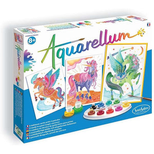 Aquarellum: Unicorns and Pegasus