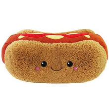 Load image into Gallery viewer, Big Comfort Food Hot Dog Squishable