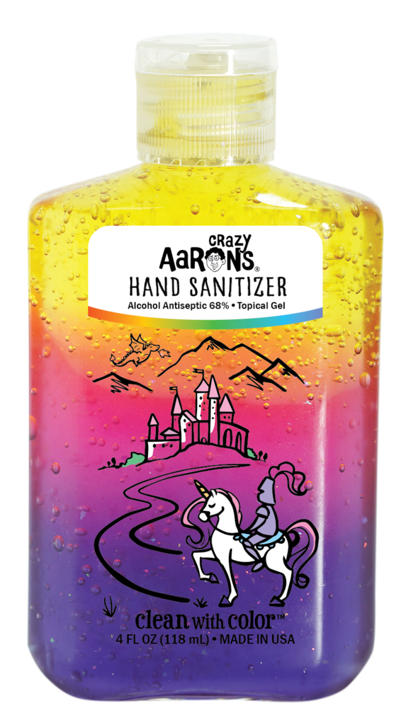 Clean With Color: Castle Hand Sanitizer