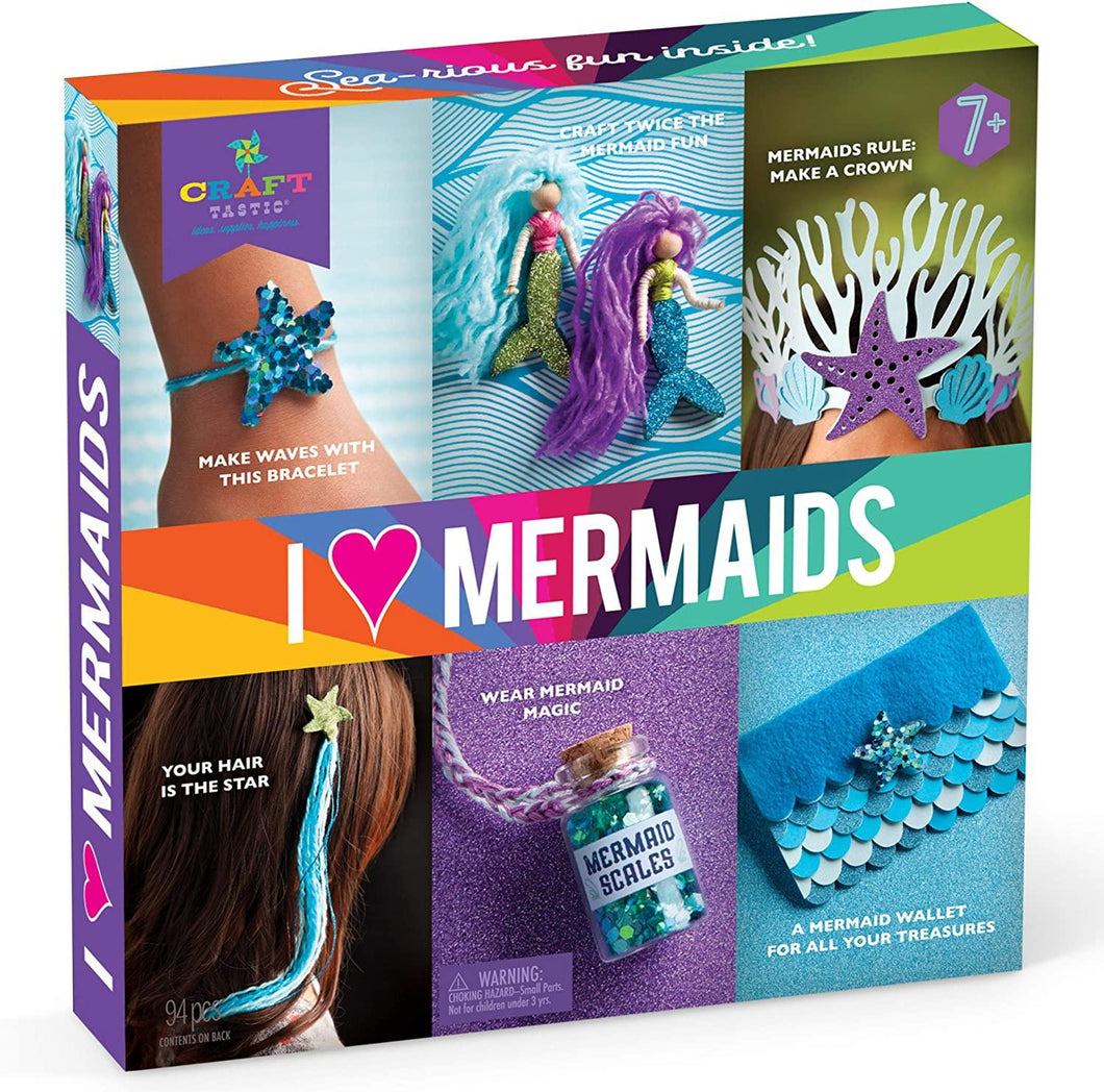 Craft-Tatsic: I Love Mermaids Kit