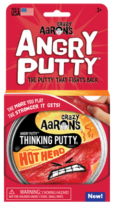 Crazy Aarons Angry Putty: Hot Head