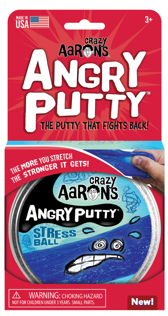 Crazy Aarons Angry Putty: Stress Ball