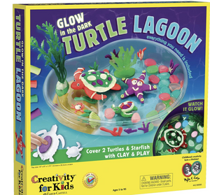 Creativity for Kids Create with Clay Turtle Lagoon