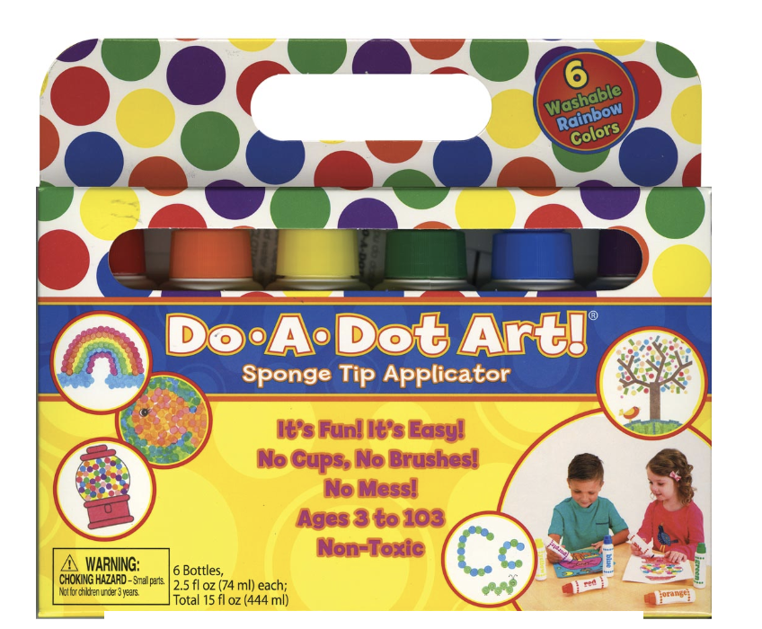 Do A Dot Rainbow Markers (6 Pack)
