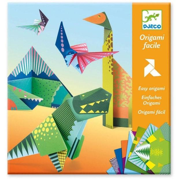 Easy Origami Dinosaurs