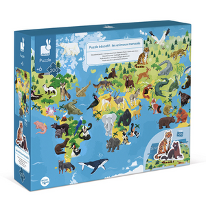 Educational 3D Puzzle Endangered Animals