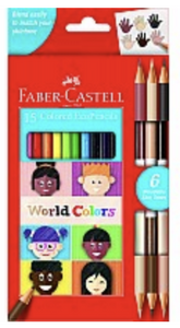 World Color Ecopencils (15 Count)
