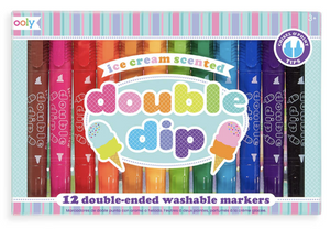 Double Dip Ice Cream Scented Markers