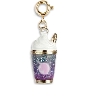 Gold Unicorn Smoothie Charm