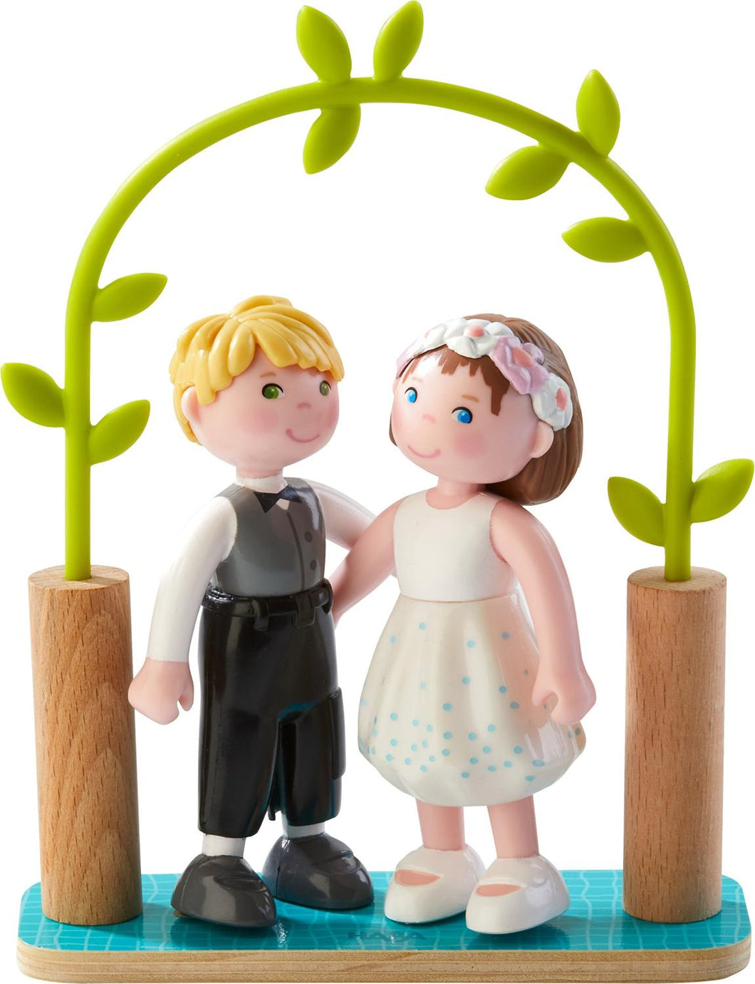 Little Friends: Bride and Groom