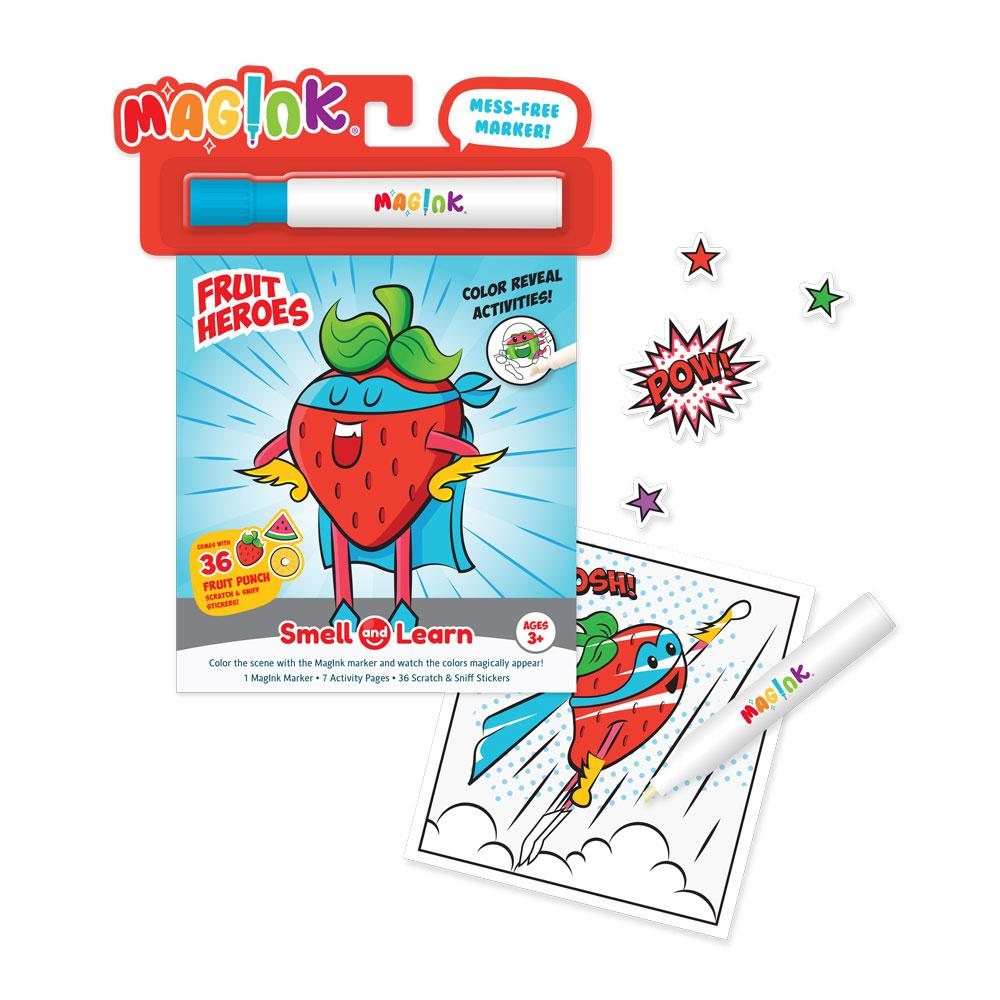 Mag-Ink Activity Kit: Fruit Heroes!