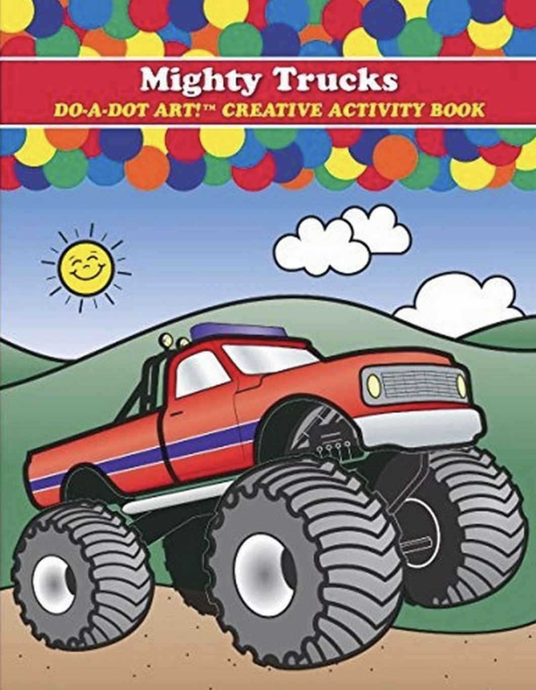 Do A Dot Art Mighty Trucks Book