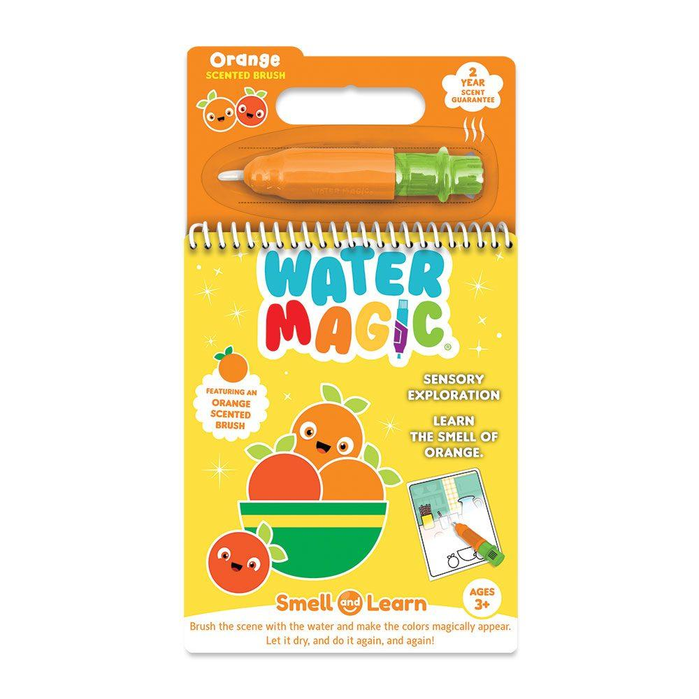 Orange Water Magic Book