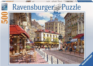 Quaint Shops 500 Piece Puzzle