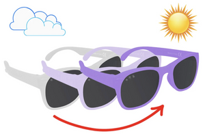 Ro-Sham-Bo Toddler Color-Changing Sunglasses: Wonka