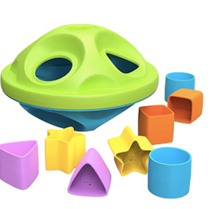 Green Shape Sorter