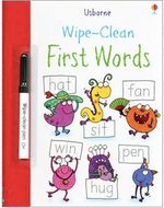Wipe Clean First words