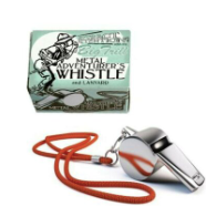 Load image into Gallery viewer, Junior Adventurer's Metal Whistle