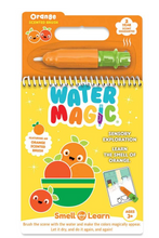 Load image into Gallery viewer, Orange Water Magic Book