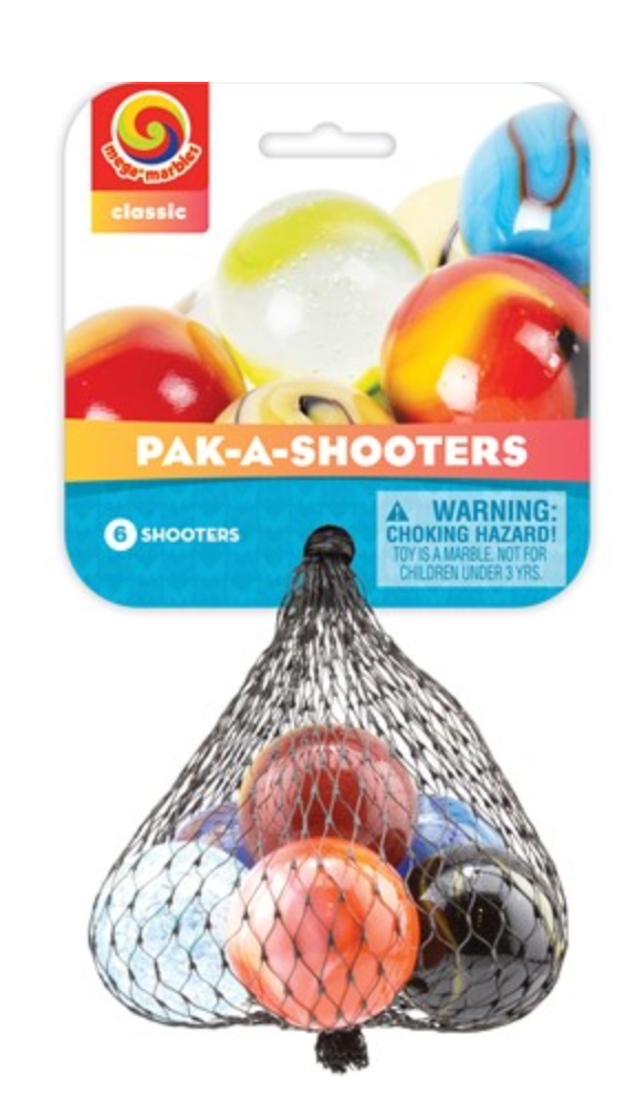 Pak-A-Shooters Marbles
