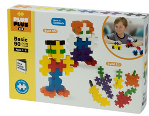 Plus Plus Big Basic 90 Piece Set